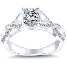 Certified Princess Cut Diamond Engagement Ring!!!