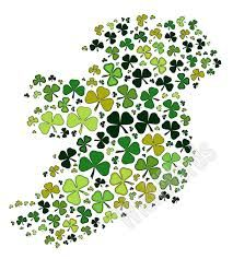 Happy St Patricks Day #Map #Ireland #StPatricksDay #Clover #17March