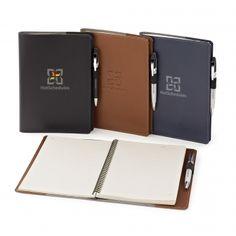 "Newport Cover & Refillable Journal – 6""x 9"""