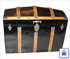 Victorian Dome-Top Trunks and Cedar Chests