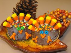 turkey cookies | Thanksgiving Turkey Cookies :) | Fall