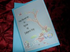 Father's Day, Parchment Card, Handmade