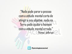 Atitude mental! #psicologia #psicologiaacessivel #psico #psi