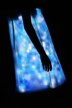 (VIEW 2 OF 2) Hussein Chalayan Wants to Dress You in Lights FOLLOW LINK=>DIFFERENT ARTICLE FROM FIRST VIEW
