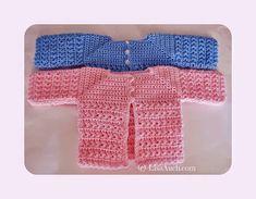 Easy Newborn Crochet Cardigan FREE Pattern A Star is Born