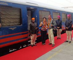 Royal Rajasthan On Wheels Welcome On Board, Vibrant Colors, Colours, Wheels, India, Landscape, Vivid Colors, Landscaping, Scenery