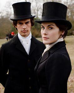 Lady Mary & Kemal Pamuk ~ at the Hunt....,hmmm....