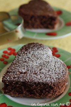 Torta allo yogurt e cacao - Best Hair Styles EVER Other Recipes, Sweet Recipes, Cake Recipes, Nutella, Cacao, Italian Breakfast, Italian Bakery, Maila, Healthy Cake