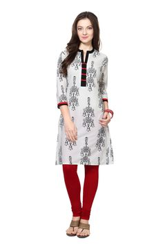 Buy Rangmanch Ethnic Top Online at Trendin.com - Shop Online for Pantaloons Multicoloured Kurta for Women at Best Price with Free Shipping & 30 days Return Policy.