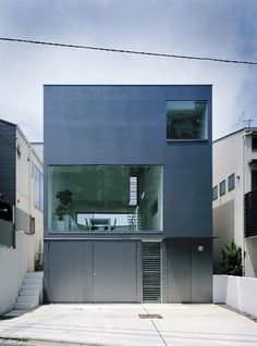 Industrial designer house by Koji Tsutsui