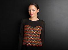 MUMBAI MADNESS | Amber Whitecliffe Mumbai, Madness, Crochet Top, Amber, Drop, India, Inspiration, Collection, Women