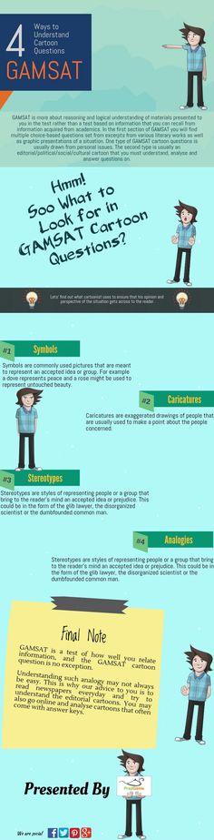 4 Ways to Understand GAMSAT Cartoon Questions  #cartoon #questions #gamsatcartoon