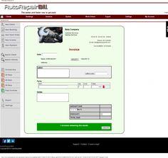 Invoice Sample Auto Repair Invoice Software Auto Repair Invoice