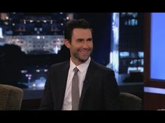 Adam Levine on Jimmy Kimmel Live ~ Part 1 May 17th. 2013
