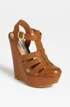 close toed wedge..love the color. matches everything
