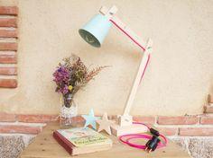 La Bici Azul: Blog de decoración, tendencias, DIY, recetas y arte: DIY: Lámpara de Madera estilo nórdico