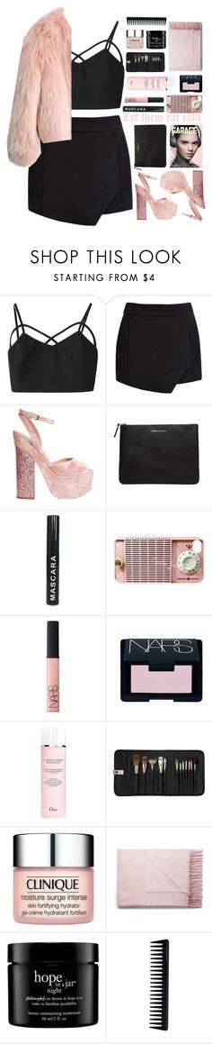 """Untitled #2028"" by tacoxcat ❤ liked on Polyvore featuring Mode, Forever New, Balenciaga, Giamba, Comme des Garçons, Samsung, NARS Cosmetics, Christian Dior, Sephora Collection und Clinique"