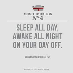 Night nurse problems!! Or become more and more delirious when trying to stay awake