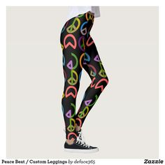Peace Beat / Custom Leggings