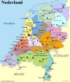 geografie-nederland: alles over leven, werken en landschap in Nederland
