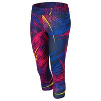 80's much? WANT! adidas Women's adiZero 3/4 Tights - Midnight