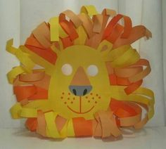 Mascara de leon, para carnabal