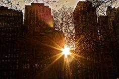 City Sunset - New York City