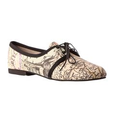 I am in love with this desogner. Informal Brogues – Map Print from Ana Luisa Footwear - R499 (Save 0%)