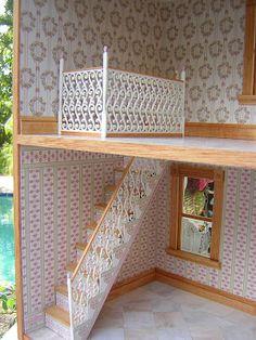 Dollhouses by Robin Carey: Miss Muffet Dollhouse