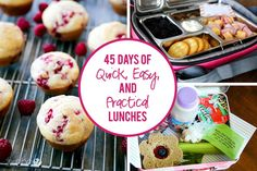 45 Days of Quick, Easy, and Practical Lunches