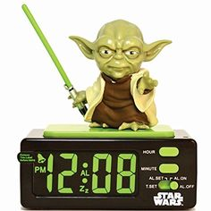 Star Wars 15204 Yoda Alarm Clock