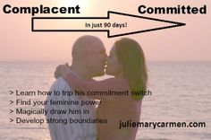 Complacent To Committed -  90 days to toe-tingling commitment!