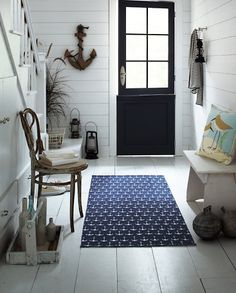 Beach House Entry - Nautical Trend #nautical