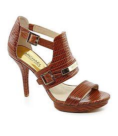 MICHAEL Michael Kors Jess Platform Sandals #Dillards