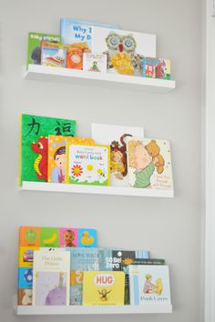 Will be putting these up again like in Amelias room. Ikea Shelves