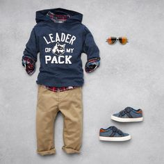 """Leader of my pack"" 