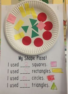 Love, Laughter and Learning in Prep! Shapes, Snakes, Segmentation and Sensory Paint! Pre K Activities, Preschool Learning Activities, Preschool At Home, Preschool Lessons, Preschool Activities, Kids Learning, Preschool Shape Crafts, Activities For 6 Year Olds, 2d Shapes Activities