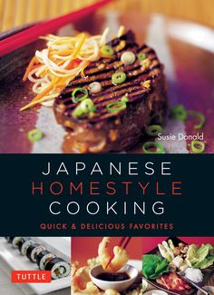 Enjoy fresh and delicious Japanese meals with the ease of cooking in your own kitchen!  Few home cooks prepare the dishes typically served in restaurants, and nowhere is that more true than in Japan. Fortunately, Japanese Homestyle Cooking introduces Western taste buds to the flavorful, delicious, and easy-to-prepare foods that Japanese home cooks make every day for family and friends.