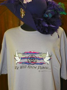 We Will Know Peace by MoonbeamsCottage on Etsy, $19.99