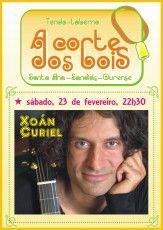 Xoán Curiel @ A corte dos bois - Sandiás (Ourense) musica concierto concerto
