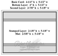 greeting card sizes
