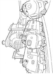 free chuggington coloring pages