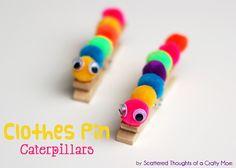 Peg caterpillar