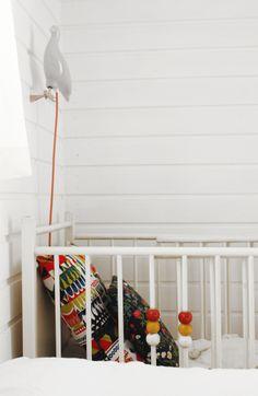 Kids room - Bird lamp - Varpunen