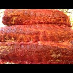 Texas Baby Back Rib Rub on BigOven: The perfect spicy dry rub for Baby Back Ribs. Trying today. Smoked Ribs Rub, Bbq Rib Rub, Rub For Pork Ribs, Bbq Ribs, Barbecue, Pork Rib Recipes, Rub Recipes, Smoker Recipes, Easy Recipes