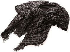 Cheetah Printed scarf / エコー ニューヨーク echo NEW YORK  shopstyle.co.jp