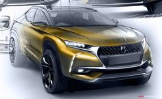 DS 7 Crossback Unveiled Ahead of Geneva Motor Show