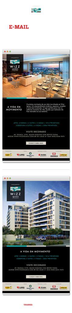 WIZZ Iguaçu | E-mail Marketing on Behance