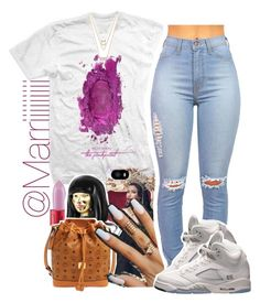 """Pick#2 ~nicki show"" by trill-forlife ❤ liked on Polyvore"