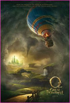 """Disney's """"Oz The Great And Powerful"""" movie poster"""